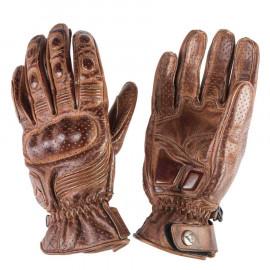 By City guantes moto Retro II marrón