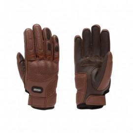 Rainers guantes moto verano Diavolo marrón
