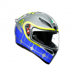 AGV casco moto integral K1_Top_Rossi_Mugello_2015