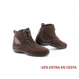 Seventy zapatillas moto urban SD-BC8 marrón