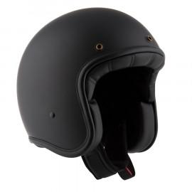 By City casco moto jet Two Strokes negro mate