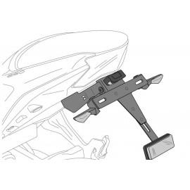 Kit soporte portamatrícula Suzuki GSX-S950 Puig
